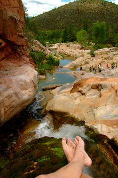 Exploring the Southwest: Ellison Cascades, Payson AZ
