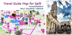 TGM for Split Dalmatia Croatia: TGM Split Dalmatia Croatia - Tourist Guide Map…