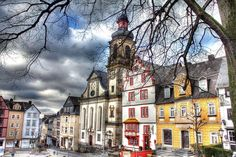 """Alter Markt"" in Hachenburg (Germany)"