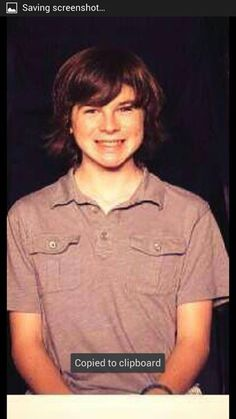 chandler riggs 2013 | Chandler Riggs changed his cover photo . Chandler Riggs, Dead Pics, Carl The Walking Dead, Walking Dead Pictures, I Love Him, My Love, Carl Grimes, Dream Guy, Man Candy