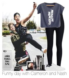 """""""Funny Day With Cameron And Nash"""" by hazzgirl03 ❤ liked on Polyvore featuring beauty, Rodarte, adidas Originals, LORAC, Casetify and Jeweliq"""