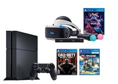 PlayStation VR Launch Bundle 2 Items: VR Launch bundle , Call of Duty Black Playstation 4 Console, Playstation Games, Playstation 4 Accessories, Vr Games, Virtual Reality Headset, Call Of Duty Black, Gaming Headset, Black Ops, Tv Videos