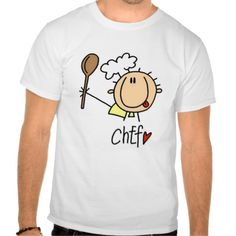 Chef With  Spoon Tshirts and Gifts