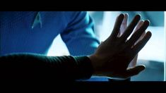 Star Trek Into Darkness Announcement Trailer Shot-By-Shot Analysis: Kirk and Spock touch hands through transparent wall in moment that is very reminiscent of iconic scene in Star Trek II: The Wrath of Khan Film Star Trek, Star Trek Ii, Star Wars, Star Trek Chris Pine, Star Trek Wallpaper, Shot By Shot, Cry Like A Baby, Star Trek Into Darkness, Zachary Quinto