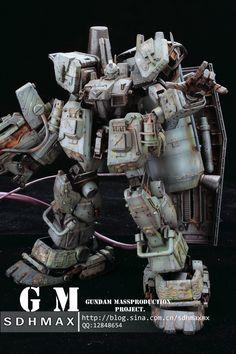 GUNDAM GUY: GM Gundam Mass Production Project - Custom Build
