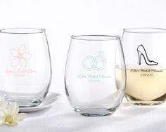 Personalized Stemless Wine Glass  Item: 30009NA