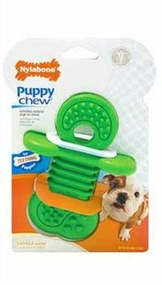 Nylabone Puppy Rhino Teethers Chew Toy