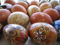 How to create Pisanki (the Polish way of decorating Easter eggs)
