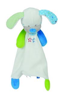 lief! lifestyle knuffels | tutdoekje hondje wit | pluche soft toys | kids, babies & toddlers