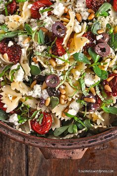 Roasted Tomato Pasta, Tomato Pasta Salad, Cherry Tomato Pasta, Roasted Cherry Tomatoes, Food Network Recipes, Cooking Recipes, Healthy Recipes, Salad Bar, Greek Recipes