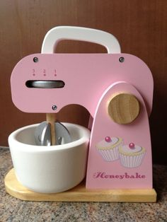 Le Toy Van Honeybake Mixer Set: