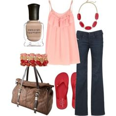 New College Wardrobe - Polyvore