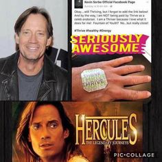 Kevin Sorbo knows a good thing when he finds it!  #Hercules #NopeNotPaidToEndorse #whatareyouwaitingfor ?