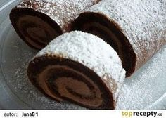 Healthy Cake, Healthy Diet Recipes, Baking Recipes, Cookie Recipes, Dessert Recipes, Sweet Desserts, Sweet Recipes, Cake Roll Recipes, Czech Recipes