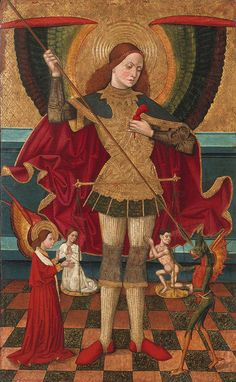 Abadia_Juan_De_La_St_Michael_Weighing_Souls_1480_Mnac