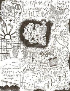 Owl city doodle :D