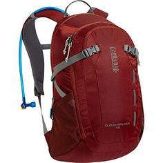 CamelBak Cloud Walker 18 Hydration Backpack  975cu in Sienna RedDark Red One Size -- You can get more details by clicking on the image.(This is an Amazon affiliate link)