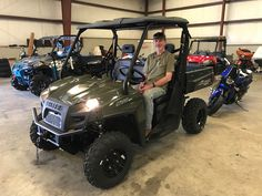 Congratulations to Howell Crawford from Hattiesburg, MS for purchasing a 2018 Polaris Ranger 570 from Hattiesburg Cycles. #polaris