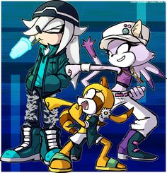 ALBERTA: Sonic shadow and silver as girls
