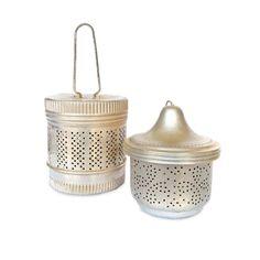 Pair of Vintage Tea Infusers or Tea Balls. $8.00, via Etsy.