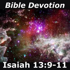 Image result for Isaiah 13:9-11
