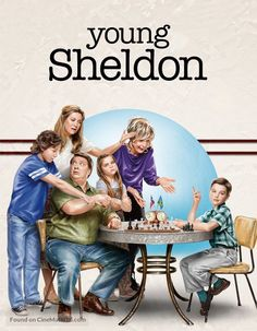 Young Sheldon poster, t-shirt, mouse pad The Big Theory, Big Bang Theory Funny, Movies Showing, Movies And Tv Shows, Movies Playing, New Poster, Big Love, Series Movies, Movie Posters