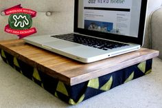 Make this Homemade Holiday Gift: Lap Desk HOMEMADE HOLIDAY GIFT IDEA EXCHANGE: PROJECT #15 | Apartment Therapy