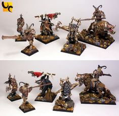 Warhammer FB | Beastmen | Beastmen Champions #warhammer #ageofsigmar #sigmar #wh…