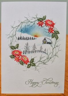 My Crafty Corner: Scenic Christmas