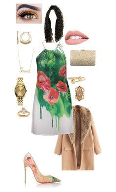 """""""Shanghai; Day 14"""" by catherine-ebanks on Polyvore featuring Poliana Plus, Christian Louboutin, Sydney Evan, Nixon, Henri Bendel, Napier, J.W. Anderson, Annello and Neiman Marcus"""