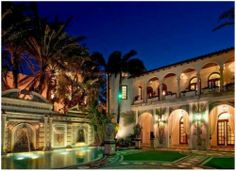 Gianni Versace's house on miami beach...wish i could say it was mine :(