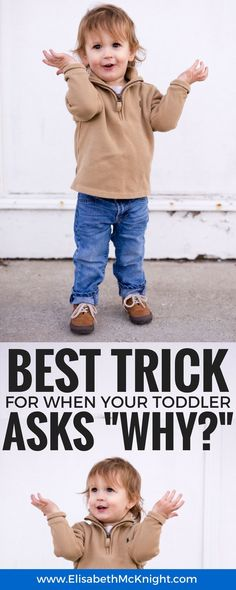 has your toddler entered the why stage and started asking why over and over again? love this explanation and tips for responding!