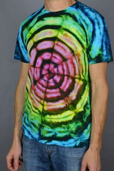Tie dye clothing for the whole family