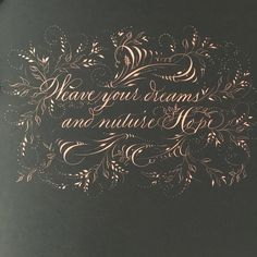 301 отметок «Нравится», 16 комментариев — Heather Held (@heathervictoria1) в Instagram: «My thoughts this afternoon #flourish #calligraphy #heathervictoriaheld»