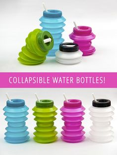Collapsible Water Bottles!