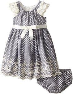 Bonnie Baby Baby Girls' Ruffle Sleeve Chambray Border, Blue, 12 Months Bonnie Baby http://www.amazon.com/dp/B00V6YIT0M/ref=cm_sw_r_pi_dp_d1QQwb0E4B0ES