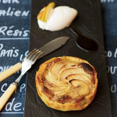 This delicious dessert is a large version of the individual tartlets served at Racines. The thin, crisp pastry shell is filled with a layer of almond ...