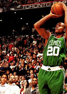 Ray Allen, my second role model