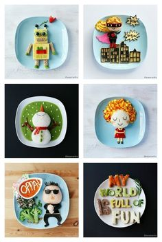 Amazing food art by Samantha Lee. Wow, blown away!