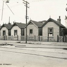 267 to 273 Cuba Street cottages, 1929 Cuba Street, Wellington City, City Library, Kiwiana, South Island, National Museum, Pacific Ocean, What Is Like, Cottages