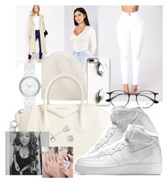 """""""Winter Collection"""" by trill-boss ❤ liked on Polyvore featuring Casetify, ASOS, Apt. 9, DKNY, Ray-Ban, Givenchy, NIKE and Amanda Rose Collection"""