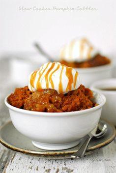 Pumpkin Cobbler   23 Thanksgiving Dishes You Can Make In A Crock Pot