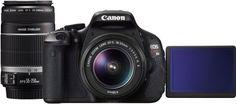 Canon digital SLR camera EOS Rebel T3i /Kiss X5/600D double zoom kit New FS Gift #Canon