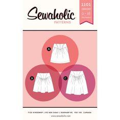 Schnittmuster: 1101 Crescent Skirt