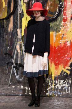 Daniela Gregis at Milan Fall 2015