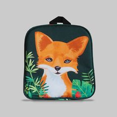 Excited to share the latest addition to my #etsy shop: Rybka - Small Backpack 2-3 Years, Kids Backpack, Toddler Bag, Preschool Kids, Playgroup bag, Fox http://etsy.me/2CvpLUQ