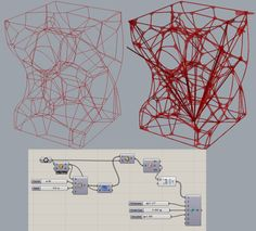 Introducing 'Exoskeleton' - A wireframe thickening tool - Grasshopper