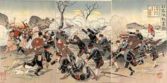 日露戦争、1904年(明治37年)2月8日 - 1905年(明治38年)9月5日  Russo-Japanese War, 1904-1905