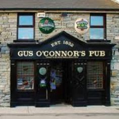 Gus O'Connor's Pub, Doolin Ireland-- great craic and Guiness stew