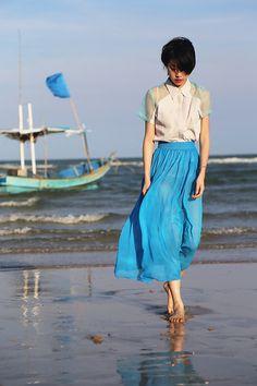 Huahin Blue - Evian Lu